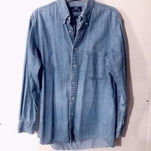 Men's Stafford jean shirt